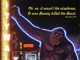 King Kong Quote Beauty Killed The Beast