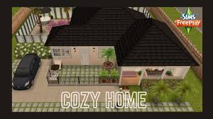 Sims Freeplay | Cozy Home🖤😍 - YouTube