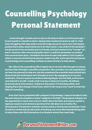 Psychology Personal Statement Example Pin By Personal Statement Writer Samples On Counselling Psychology