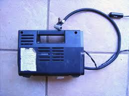 tire inflator gas station. introduction: convert a tire inflator-type air compressor into vacuum pump inflator gas station