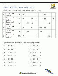 Subtraction Worksheets With Regrouping Graph Paper Math And Addition