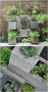 garden planter 17 creative ways to use concrete blocks in your home