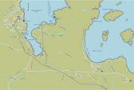 getting here vancouver island north Bc Ferries Map maps to communities bc ferry map