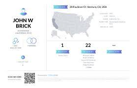 John W Brick, (760) 954-7689, 28 Faulkner Ct, Ventura, CA | Nuwber
