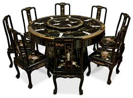 black lacquer dining room furniture. black lacquer dining table with 8 chairs asiandiningsets room furniture a