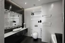 Black And White Bathroom Designs Custom Design Inspiration