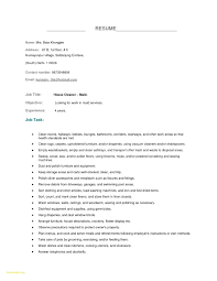 Housekeeping Resume Examples New Housekeeping Resume Sample Housekeeper Manager Samples Supervisor
