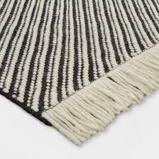 black and white rug. black/white chevron area rug - project 62™ black and white