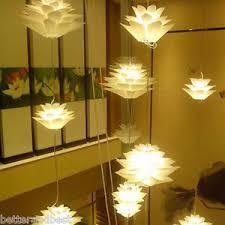 pendant lighting living room. image is loading whitediylotuschandelierpendantlightlamplivingroom pendant lighting living room a