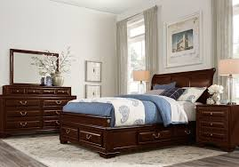 Queen bedroom sets with storage Contemporary Bedroom Mill Valley Pc Queen Sleigh Bedroom Storage Queen Bedroom Sets Dark Wood Rooms To Go Mill Valley Pc Queen Sleigh Bedroom Storage Queen Bedroom Sets