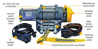 superwinch 12 volt dc powered electric atv winch 2500 lb superwinch wiring diagram atv at Superwinch Lt2500 Atv Winch Wiring Diagram