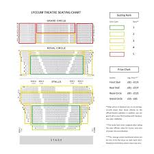 Lion King Theatre Seating Chart Xperiencetravelthetaylorway Lyceum Theatre Seating Chart