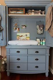 repurposed antique furniture. View In Gallery Armoire Repurposed As A Baby Changing Table Antique Furniture R
