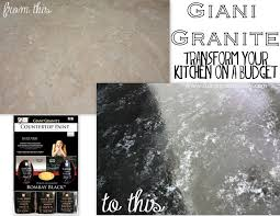 Kitchen Counter Top Paint Giani Granite Countertop Paint Review Ask Anna