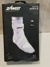 Zamst A2 Dx Size Chart Zamst Ankle Brase A2 Dx A2dx White Right Medium 470642 Support Active People