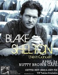Blake Shelton W Neal Mccoy In Austin At Nutty Brown
