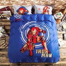 superhero duvet cover double superhero quilt cover australia 100 cotton iron man 3pcs 4pcs bedding set