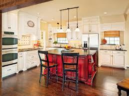 Red Kitchen Island Granite Top Kitchen Island With A Breakfast Bar