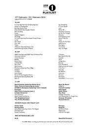 Bbc Radio 1 Chart