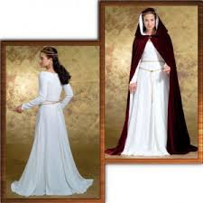Medieval Dress Patterns Unique Butterick 48 Medieval Dress And Hooded Cape Pattern Products
