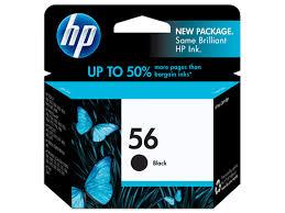 <b>HP 56</b> Black Original Ink Cartridge (C6656AN#140)