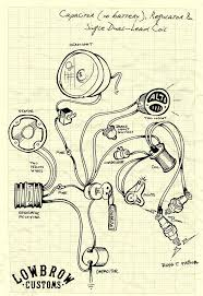lowbrow customs tech triumph british chopper wiring diagrams Simple Wiring Diagram For Chopper lowbrow customs tech triumph british chopper wiring diagrams places i want to visit pinterest choppers, custom motorcycles and bobbers wiring diagram for chopper