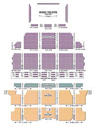 Wang Theater Boston Seating Chart 19 Precise Wang Center Seating Chart View