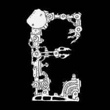 the letter e from the font robot3dfont 3d model xD5ZiyBaL 200