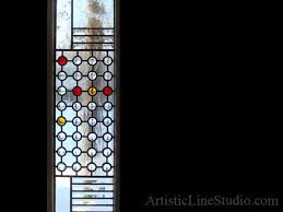 frong door after installation contemporary style leaded glass front entance door sidelights with jewels and beveled glass