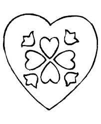 We have prepared coloring pages with different types of hearts for little artists. Printable Heart Pictures Coloring Home