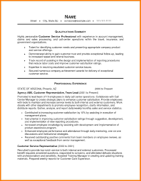Resume Objective Statement For Customer Service Resume For Study