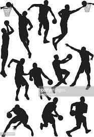 60点のバスケットボールのボールのイラスト素材クリップアート素材