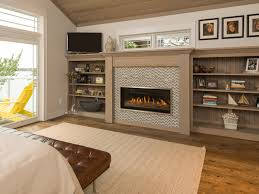 slayton 42s direct vent linear contemporary fireplace