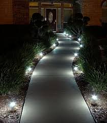 walkway lighting ideas. led walkway lights lighting path down an otherwise dark image of solar ideas y