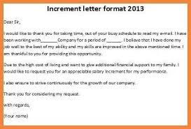 Sample Salary Increment Letter Elegant Salary Increase Letter