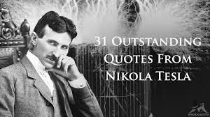 Nikola Tesla Quotes Stunning 48 Outstanding Quotes From Nikola Tesla MagicalQuote