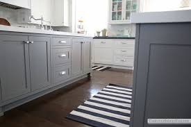 would also add something fun to the kitchen hmmm a great neutral that s also fun let s see wait i know how about some black and white stripes