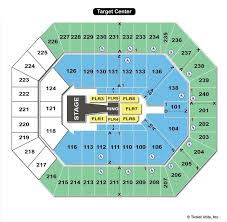 Disney On Ice Target Center Seating Chart Target Center Minneapolis Mn Seating Chart View