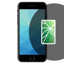 iphone 7 plus black front. screen repair for black front apple iphone 7 - ris11428 iphone plus i