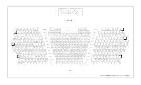 Seating Charts Bordentown Performing Arts Center