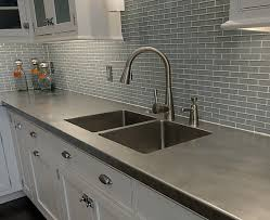 View In Gallery Culured Marble Kitchen Countertop Good Looking