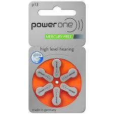Hearing Aid Battery Sizes Chart Powerone Hearing Aid Batteries Size 13 60 Pack