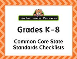 Checklists Standards Teacher Created Resources