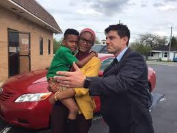 single mom wins car after her essay inspired the attorney  marion single mother jessica coleman won attorney joel spitzer s essay contest for a car that