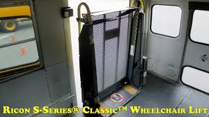 Ricon SSeries Classic Wheelchair Lift Manual Operations YouTube - Exterior wheelchair lifts