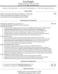 Example One Page Resume One Page Resume Examples Resume Example One Page Resume Example 4