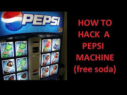 Candy Vending Machine Hack Beauteous How To Hack A PEPSI Vending Machine For A Free Soda YouTube