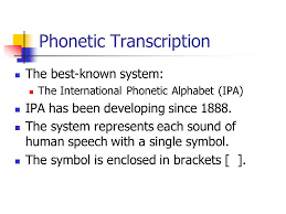 Otherwise, phonetic symbols may not display correctly. The Sounds Of Language Phonetics Chapter Ppt Video Online Download