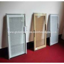 china window shutter with insulated glass inside blinds between glass