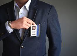 Duty Govo wallet Holder Blocking Card Heavy Rfid Badge Lanyard q1wBxAUa1